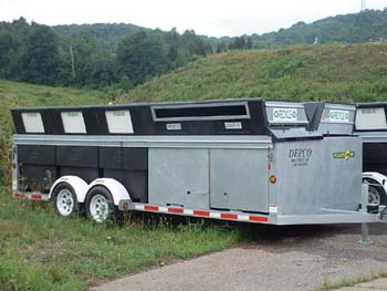 Recycling Trailer