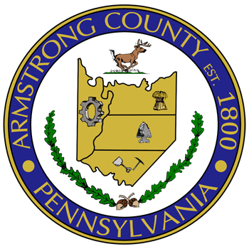 Seal of Armstrong County