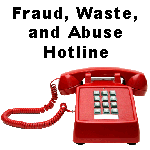 Fraud, Waste, and Abuse Hotline